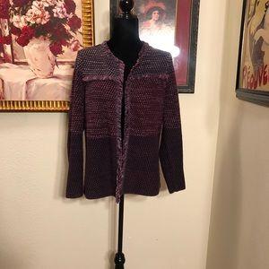Beautiful jewel toned  Chicos jacket